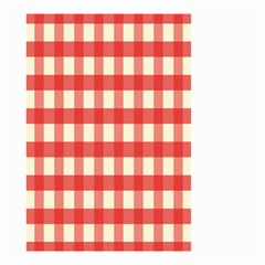Gingham Red Plaid Small Garden Flag (Two Sides)