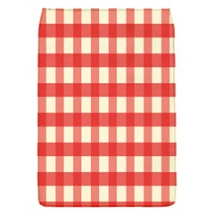 Gingham Red Plaid Flap Covers (S)