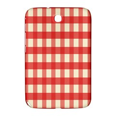 Gingham Red Plaid Samsung Galaxy Note 8.0 N5100 Hardshell Case