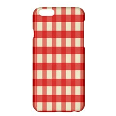 Gingham Red Plaid Apple iPhone 6 Plus/6S Plus Hardshell Case