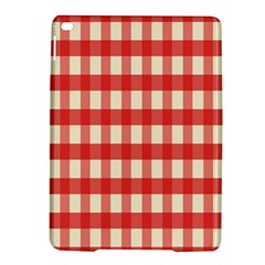Gingham Red Plaid iPad Air 2 Hardshell Cases