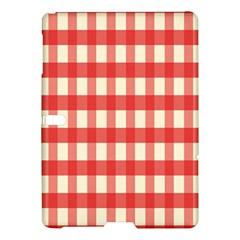 Gingham Red Plaid Samsung Galaxy Tab S (10.5 ) Hardshell Case