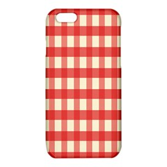 Gingham Red Plaid iPhone 6/6S TPU Case