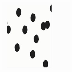 Gold Polka Dots Dalmatian Large Garden Flag (Two Sides)
