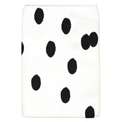 Gold Polka Dots Dalmatian Flap Covers (S)