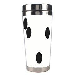 Gold Polka Dots Dalmatian Stainless Steel Travel Tumblers