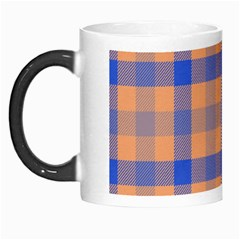 Fabric Colour Orange Blue Morph Mugs