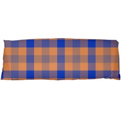 Fabric Colour Orange Blue Body Pillow Case (Dakimakura)