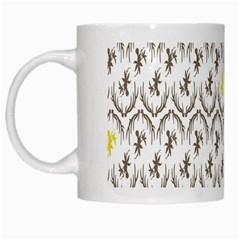 Garden Tree Flower White Mugs