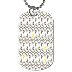 Garden Tree Flower Dog Tag (Two Sides)