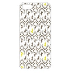 Garden Tree Flower Apple iPhone 5 Seamless Case (White)