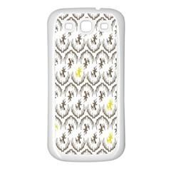 Garden Tree Flower Samsung Galaxy S3 Back Case (White)
