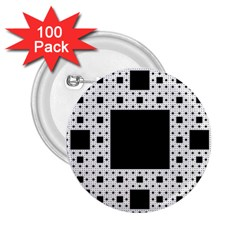 Hole Plaid 2.25  Buttons (100 pack)
