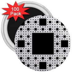 Hole Plaid 3  Magnets (100 pack)