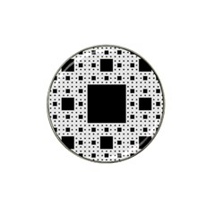 Hole Plaid Hat Clip Ball Marker (10 pack)