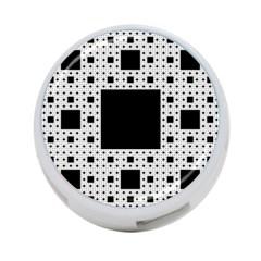 Hole Plaid 4-Port USB Hub (Two Sides)