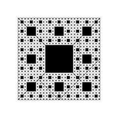 Hole Plaid Acrylic Tangram Puzzle (4  x 4 )