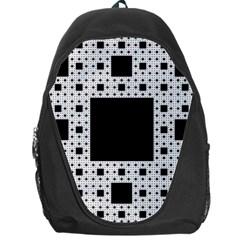 Hole Plaid Backpack Bag