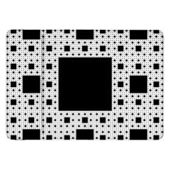 Hole Plaid Samsung Galaxy Tab 8.9  P7300 Flip Case