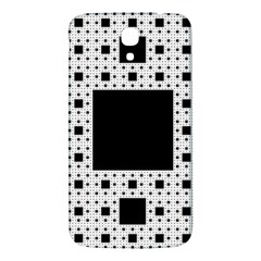 Hole Plaid Samsung Galaxy Mega I9200 Hardshell Back Case
