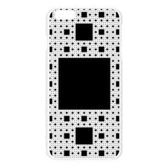 Hole Plaid Apple Seamless iPhone 6 Plus/6S Plus Case (Transparent)