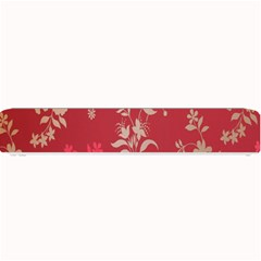 Leaf Flower Red Small Bar Mats