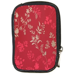 Leaf Flower Red Compact Camera Cases