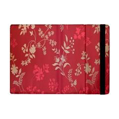 Leaf Flower Red Apple iPad Mini Flip Case