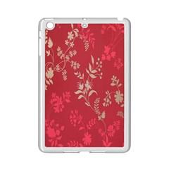 Leaf Flower Red iPad Mini 2 Enamel Coated Cases