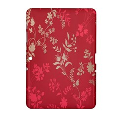 Leaf Flower Red Samsung Galaxy Tab 2 (10.1 ) P5100 Hardshell Case