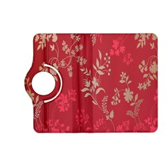 Leaf Flower Red Kindle Fire HD (2013) Flip 360 Case