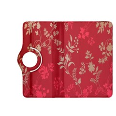 Leaf Flower Red Kindle Fire HDX 8.9  Flip 360 Case