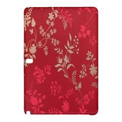 Leaf Flower Red Samsung Galaxy Tab Pro 10.1 Hardshell Case