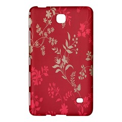 Leaf Flower Red Samsung Galaxy Tab 4 (8 ) Hardshell Case
