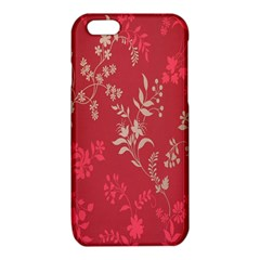 Leaf Flower Red iPhone 6/6S TPU Case