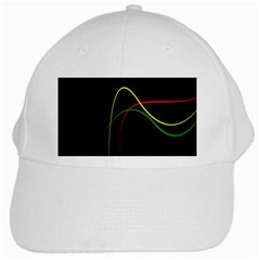 Line Red Yellow Green White Cap