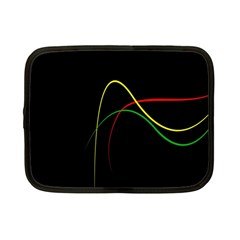 Line Red Yellow Green Netbook Case (Small)