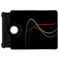 Line Red Yellow Green Kindle Fire HD 7
