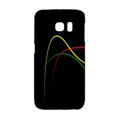 Line Red Yellow Green Galaxy S6 Edge