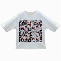 Links Rust Plaid Grey Red Infant/Toddler T-Shirts
