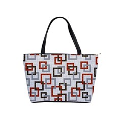 Links Rust Plaid Grey Red Shoulder Handbags