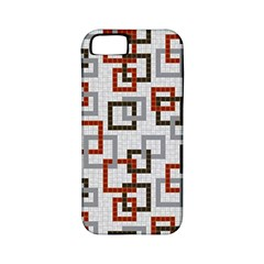 Links Rust Plaid Grey Red Apple iPhone 5 Classic Hardshell Case (PC+Silicone)
