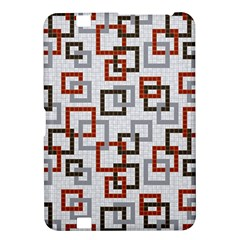 Links Rust Plaid Grey Red Kindle Fire HD 8.9