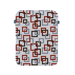 Links Rust Plaid Grey Red Apple iPad 2/3/4 Protective Soft Cases