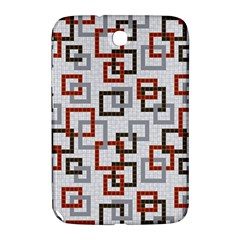Links Rust Plaid Grey Red Samsung Galaxy Note 8.0 N5100 Hardshell Case