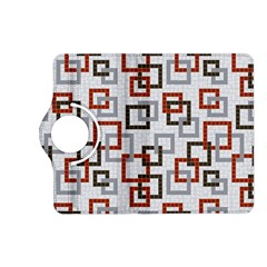 Links Rust Plaid Grey Red Kindle Fire HD (2013) Flip 360 Case