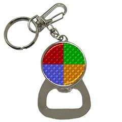 Number Plaid Colour Alphabet Red Green Purple Orange Button Necklaces