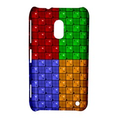 Number Plaid Colour Alphabet Red Green Purple Orange Nokia Lumia 620