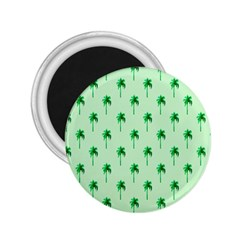 Palm Tree Coconoute Green Sea 2.25  Magnets