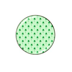 Palm Tree Coconoute Green Sea Hat Clip Ball Marker (4 pack)